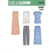 6458 New Look Pattern: Misses' Easy Knit Separates